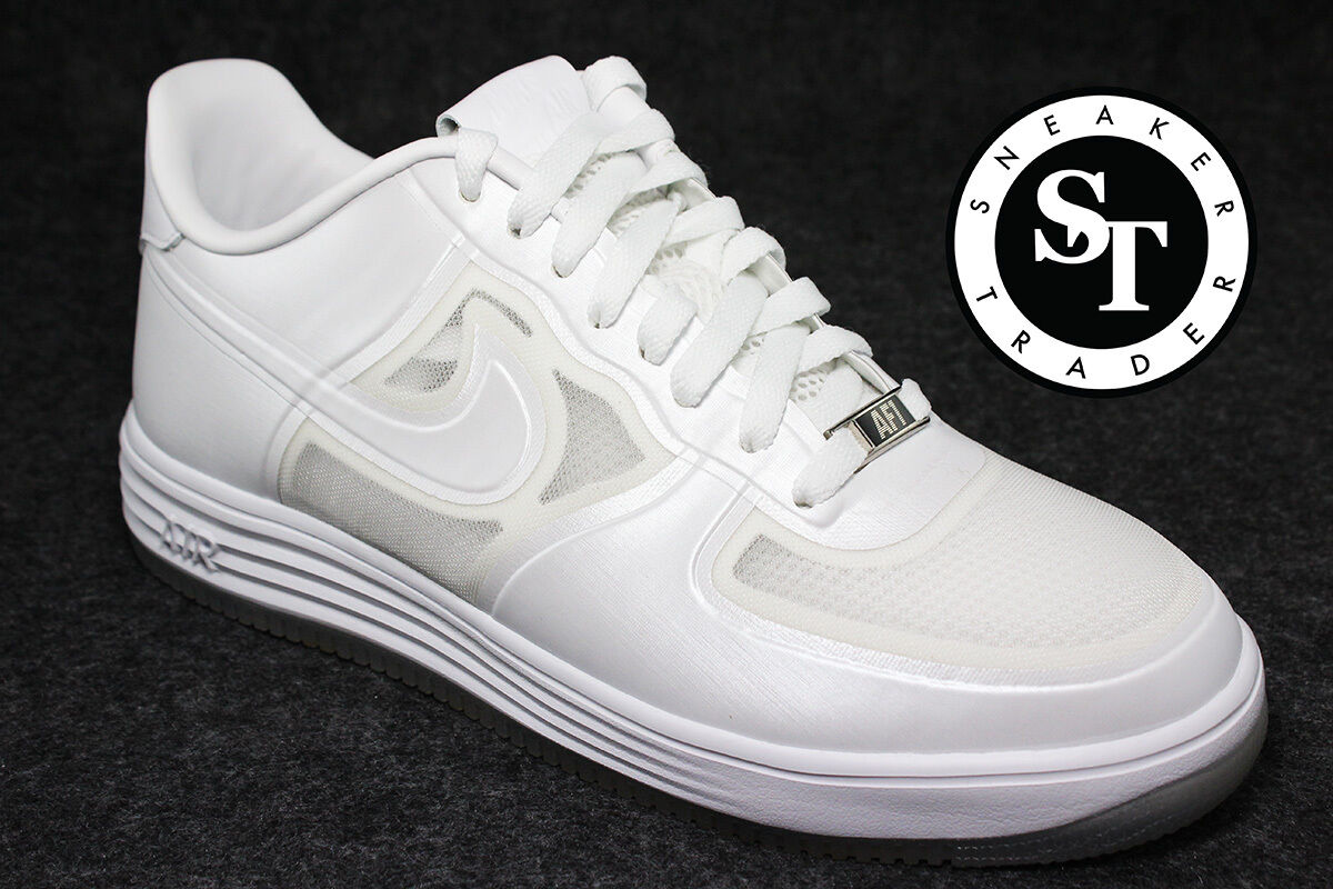 NIKE NIKE NIKE LUNAR FORCE 1 FUSE QS 614491-100 EASTER EGG PEARL WHITE DS SIZE: 13 927cad