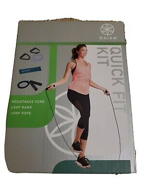 Weights, Jump Rope, Resistance Band, Finger Grips Hercules 7 Piece Fitness Kit