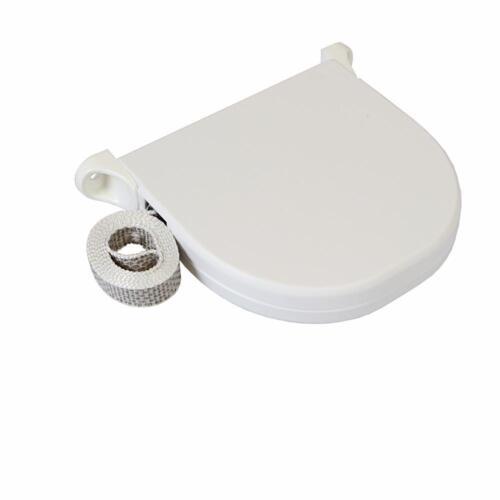 2 x Gurtwickler Aufschraubwickler Mini Aufputz 5m weiß Rollo Gurtband Rollladen