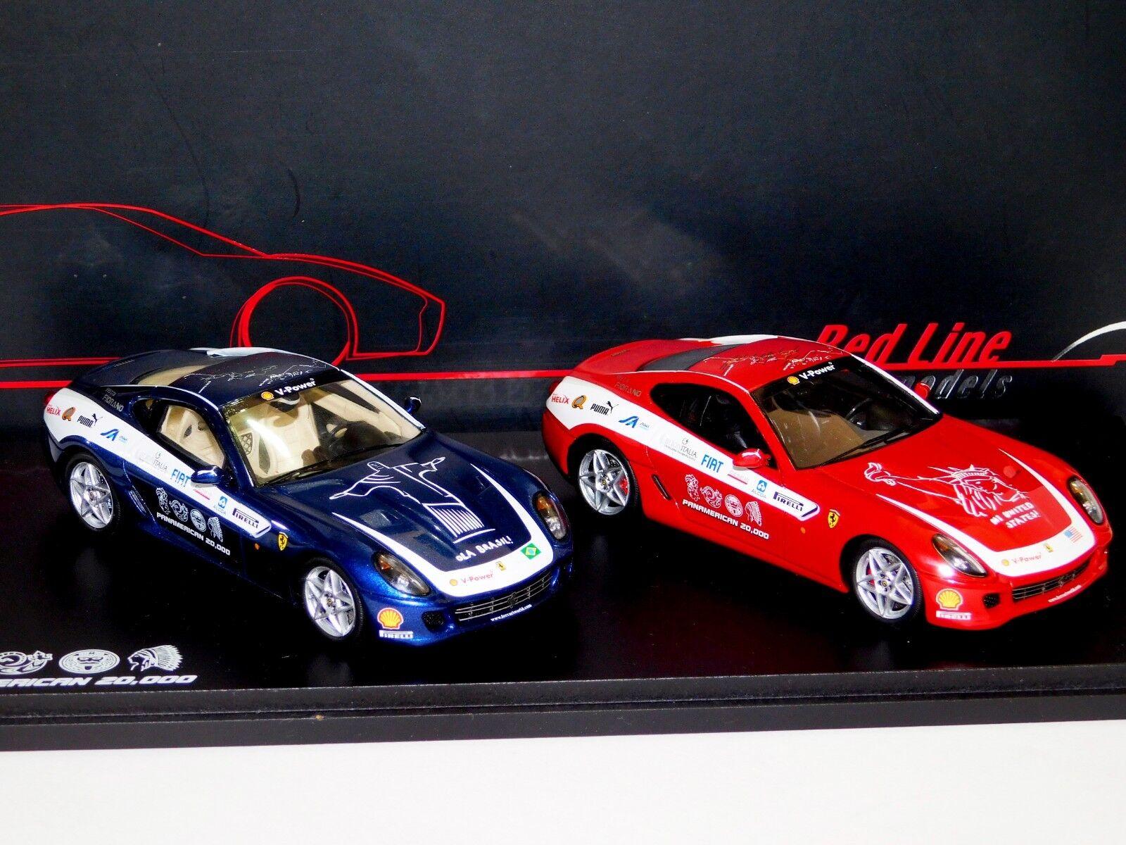 Ferrari f599 panamerican 20.000 stellen rl108 1 43 rotline