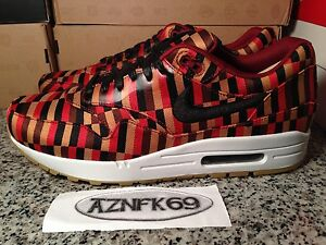 pretty nice 986bb 2ecc2 Image is loading Nike-Air-Max-1-Woven-SP-Roundel-87-
