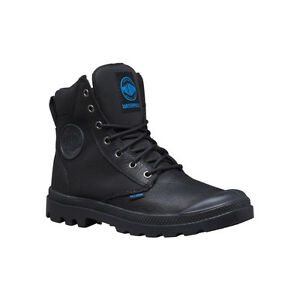 940a55b38f9 Men's Palladium Boots WaterProof Pampa Sport Cuff WPN Black / Black ...