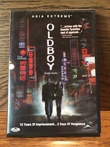 OLDBOY-DVD-Asia-Extreme-Disc-VG-Original-Movie-Park-Chanwook