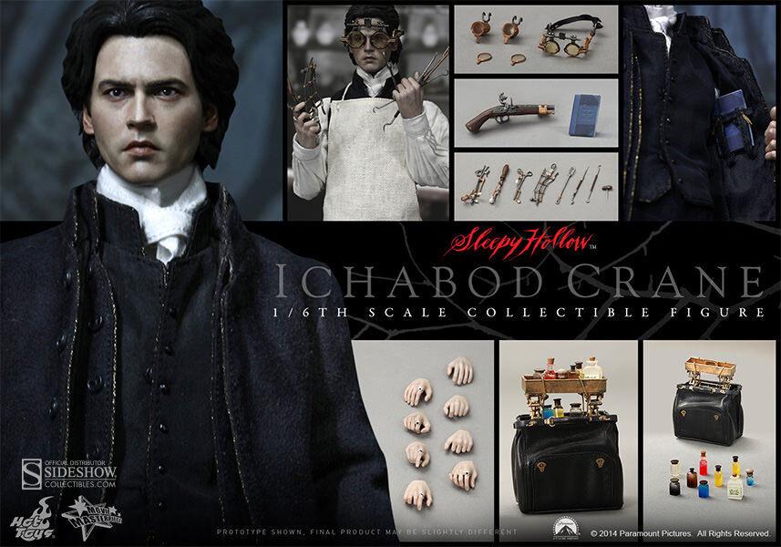 SLEEPY HOLLOW ICHABOD CRANE (Johnny Depp) 1 6 HotToys_MMS270_SEALED SHIPPER