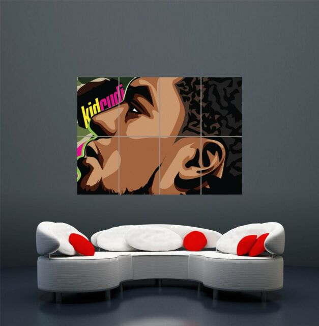 KID CUDI FROM CLEVELAND POSTER ART  PRINT GIANT LARGE  WA060