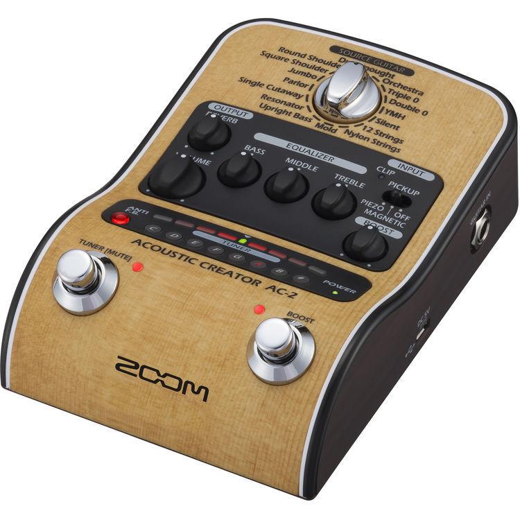 Nuevo creador Acústica Zoom Zoom Zoom AC2 Caja Directa mejorado Garantía Distribuidor hacer oferta  a64258