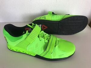 Details about NEW Reebok Men's Crossfit Lifter Plus 2.0 Green Shoes US 13 47 Weight V72385