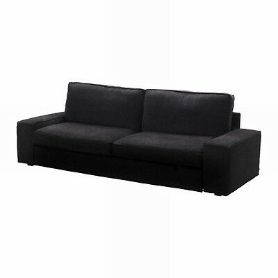 Amazing Ikea Kivik Sofa Bed Slipcover Sofabed Cover Tranas Black Tranas Corduroy Ebay Gmtry Best Dining Table And Chair Ideas Images Gmtryco