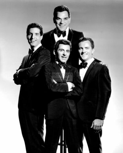 FRANKIE VALLI AND THE FOUR SEASONS 8X10 PUBLICITY PHOTO BB-360