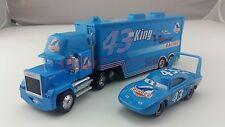 Disney Pixar Car No.43 Mack Racer's Truck & The King Toy Car 1:55 Loose New