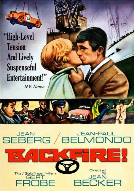 BACKFIRE (1964) / (B&W)-BACKFIRE (1964) / (B&W) DVD NEW