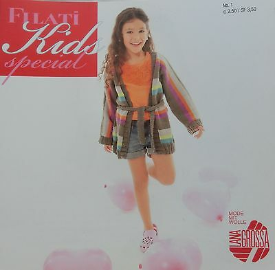 fröhlich bunte Kindermode  #163 1 Lana Grossa Filati Special Kids Nr