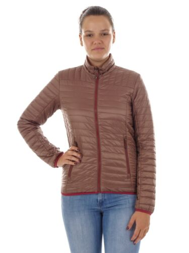 Soft Brown Casual Zip Col Veste montant Cmp fonctionnelle tUq1P0