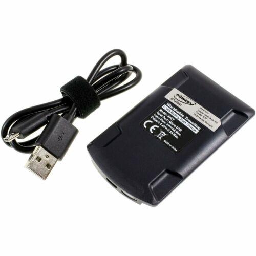 USB-cargador compatible con Nikon tipo mh-25 5v 1a negro