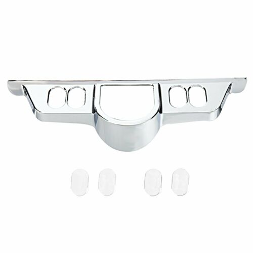 Chrome Switch Panel Accent Cover Fit Harley 1996-2013 Street Glides FLHT FLHX