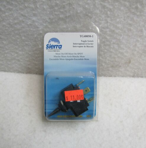 Sierra Marine Standard Toggle Switch Mom On/Off/Mom On SPDT
