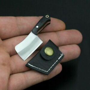 Mini-Stainless-Steel-Folding-Pocket-Knife-Keychain-Ring-Blade-Outdoor-Survival