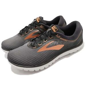 c532127b3d0 Brooks PureFlow 7 Grey Black Copper Men Running Shoes Sneakers ...