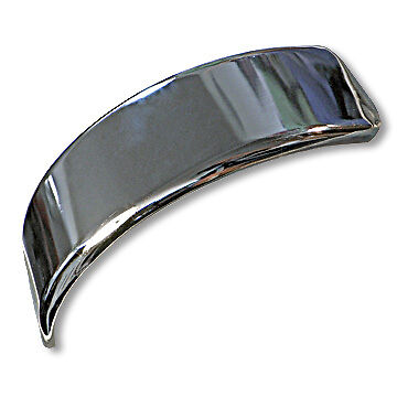 DELTEK / DECKSON VINTAGE MINI BIKE STEEL FENDER- CHROME MINI BIKE FENDER