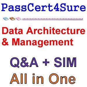Salesforce Certified Data Architecture and Management Designer SU18 Exam Q&A+SIM