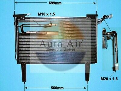 Fit with JAGUAR XJS Condenser air conditioning 16-1166 4L