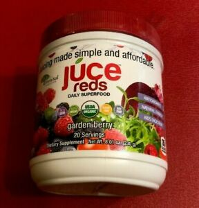 Juce Reds Superfood Garden Berry Flavor Natural Energy Blend Anti Aging  Polyphen