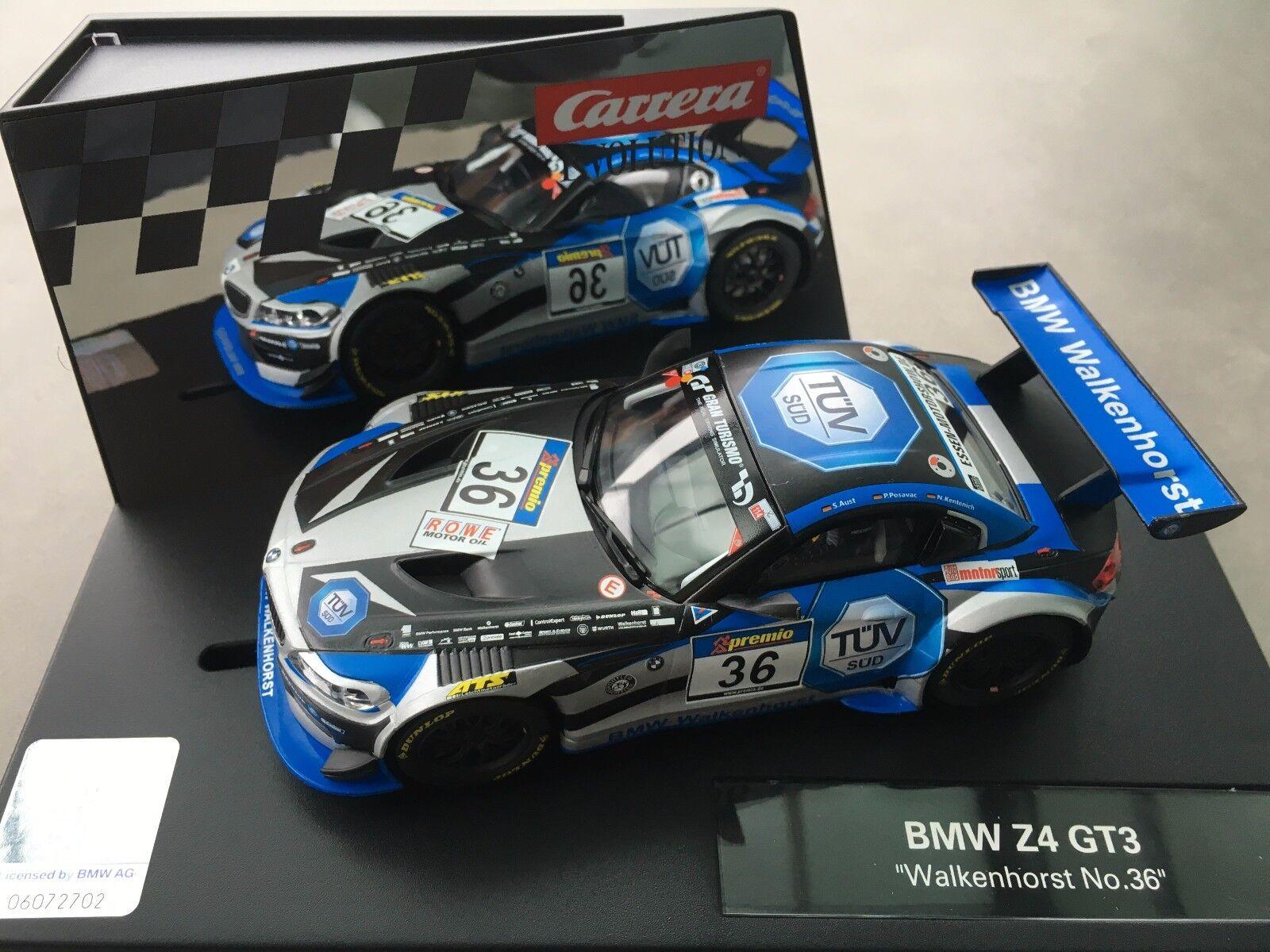 Carrera Evolution 27479 BMW Z4 GT3   Walkenhorst no. 36   NIP