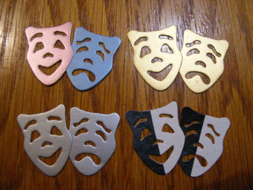 Theatre Mask Prodution Acting Performing Arts Christmas Show Die Cuts