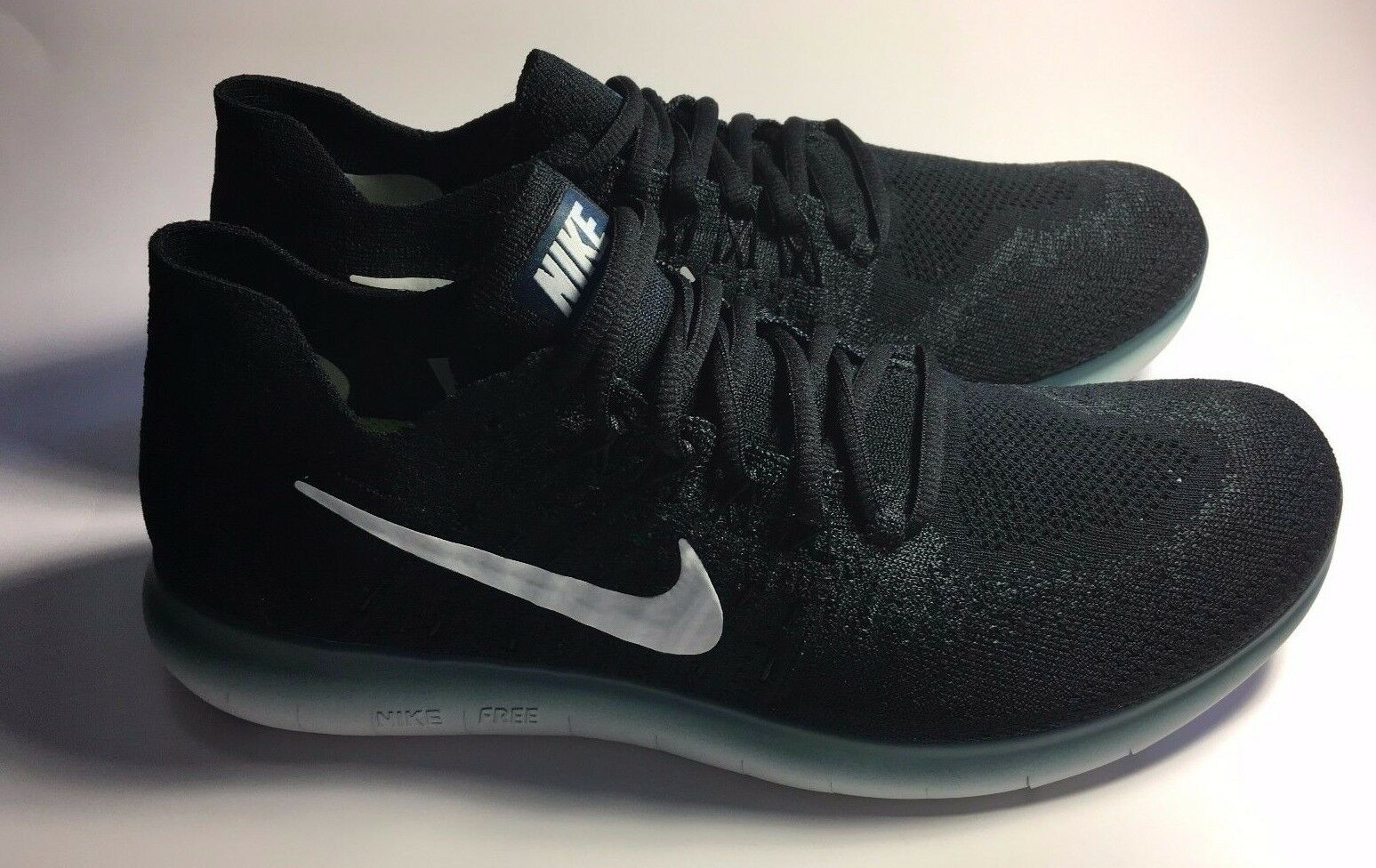 Nike Men's Free RN Flyknit  Running Cross Training shoes Size 10 (CM 28)