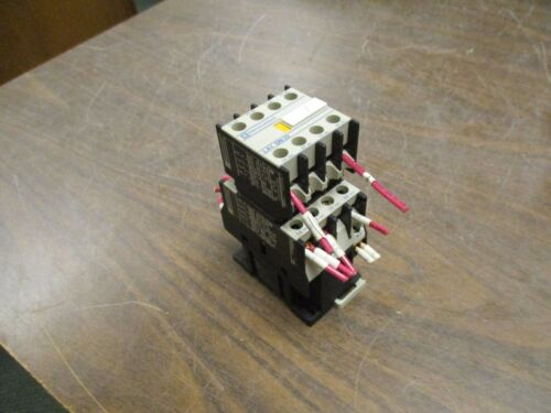 Telemecanique Contactor w// Aux Contact Block CA2 DN22 120V Coil 10A Used