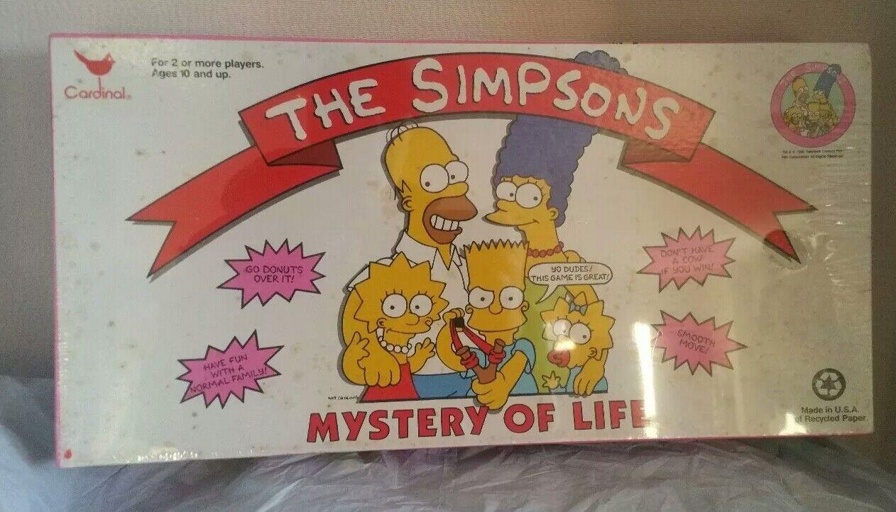The Simpsons-Mystère de la vie jeu-New Factory Sealed-No 4300