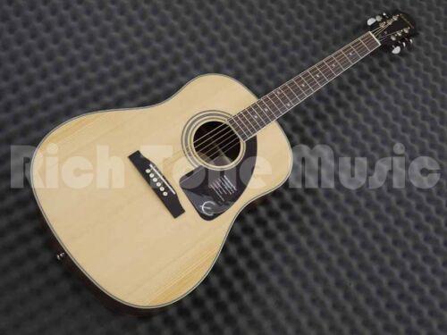 Natural Epiphone AJ-220S Acoustic Guitar