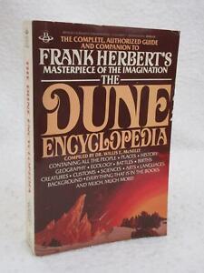 Dr. Willis E. McNelly THE DUNE ENCYCLOPEDIA Frank Herbert 1984 Berkley 1stEd