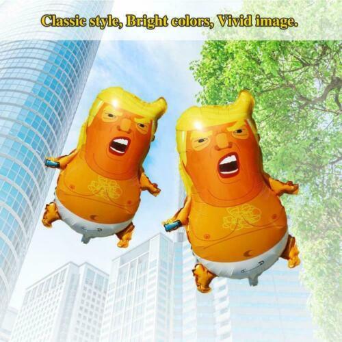Z9K3 2019 Baby Trump Balloon Premium Foil Balloons 58×44cm Freeshipping