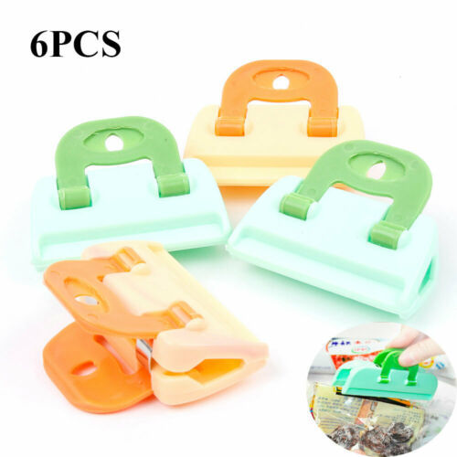 Organization Household Bag Clip Food Insurance Storage Clamp Snack Sealer