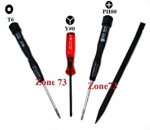 best screwdriver repair tools set kit macbook pro torx t6 tri wing ph00 ebay. Black Bedroom Furniture Sets. Home Design Ideas