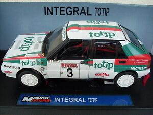 Modèles intégraux de voiture de fonte de modèle de collection de rallye classique de la collection 1:18 de Delta