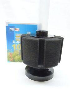 happet schwammfilter luftbetriebener innenfilter f r aquarium von 10 50 liter ebay. Black Bedroom Furniture Sets. Home Design Ideas