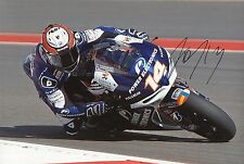 "Randy de Puniet Hand Signed Moto GP 2013 Power Electronics Aspar Photo 12x8"" D"