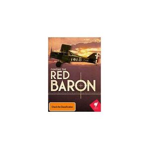 Fighting-The-Red-Baron-DVD-Brand-New-SBS-Doco-WW1-German-Ace