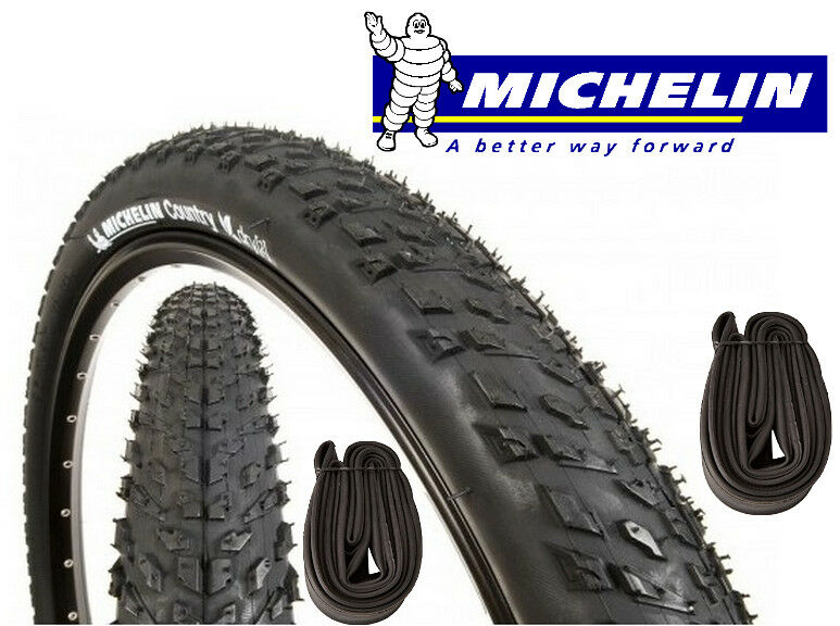 2 pneus MOUNTAIN BIKE + 2 camere camere camere d'aria MICHELIN Country Dry 2 bicicletta 26 x | lusso  | Up-to-date Styling  442bf7