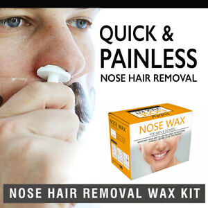 Men S Nose Hair Removal Wax Beads Kit Nasal Ear Hairs Effective