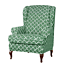 INSMA-Stretch-Wing-Chair-Cover-Slipcover-Wingback-Armchair-Furniture-D miniature 12