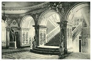Vintage-postcard-Grand-Stair-Case-City-Hall-Belfast-Northern-Ireland-W-E-Walton