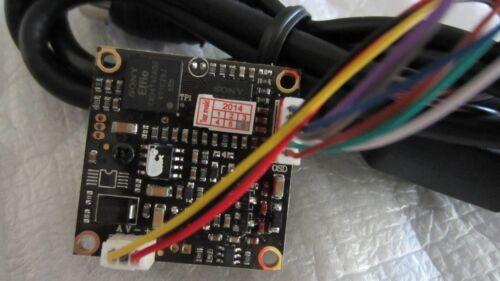 """1X 700TVL Effio-E DSP 1//3/"""" SONY CCD Board Camera 3.7mm Pinhole Lens DC12V"""