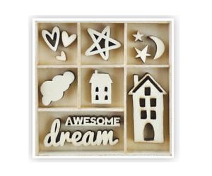 Kaisercraft Wooden Dream Flourish Pack FL603 House