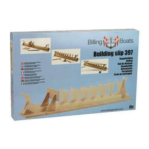 Billing Boats Building Slip 397 Aids the building of model boats New