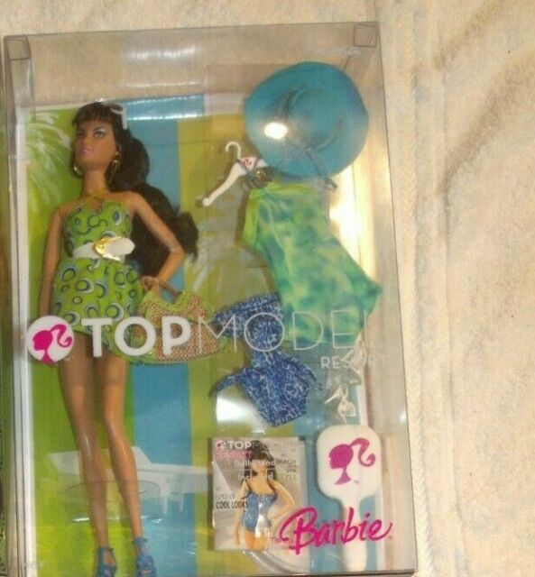 2007 Barbie Top Model Teresa Resort M5804 Htf Ebay