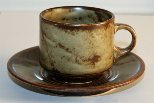 Untere Langenthal Suisse Kaffeetasse u Savannah Sahara Keramik beige//braun