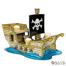 Pirate Ship Cupcake Stand Holder Skull Birthday Party